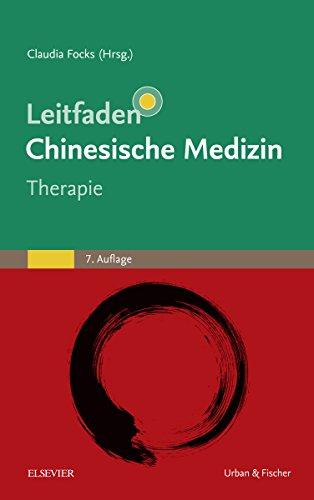 Leitfaden chinesische Medizin - Therapie