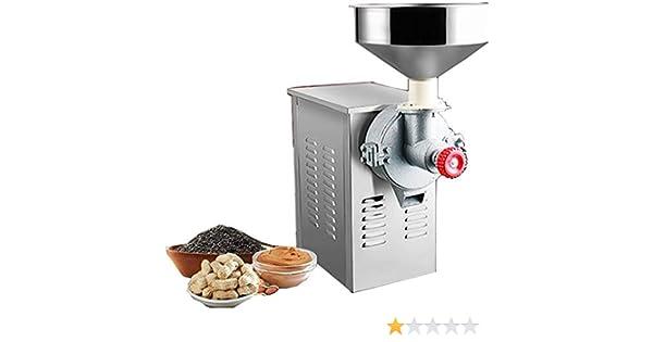 Newtry Máquina de hacer pasta de sésamo de acero inoxidable en ...