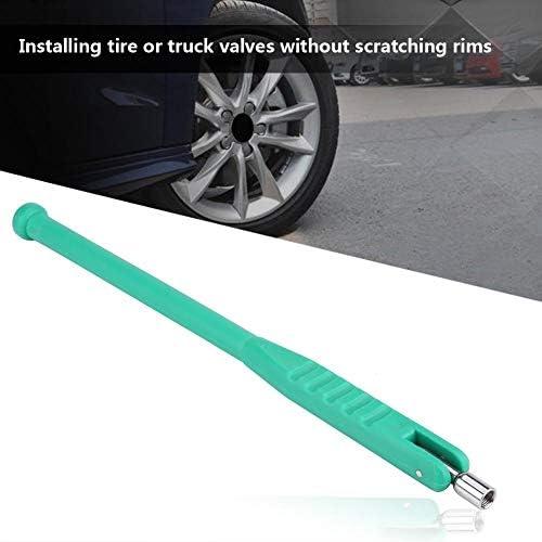 Keenso Reifen Ventilabzieher Werkzeug Mit Ventil Kern Werkzeug Reparatursatzteil Grün Auto
