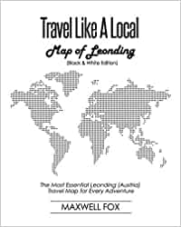Travel Like a Local - Map of Leonding (Black and White Edition): The Most Essential Leonding (Austria) Travel Map for Every Adventure [Idioma Inglés]