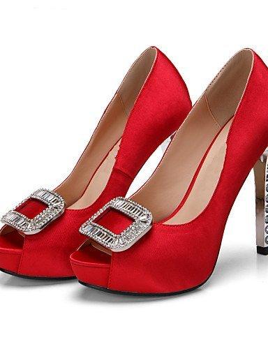 ShangYi Zapatos de boda – Sandalias – Zapato Spuntate Plateau – Boda vestir 7000e5aab6df