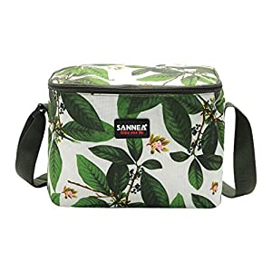 JIJI886 Sac Isotherme Repas Lunch Bag Sac Déjeuner Portable Bag Glacière pour Enfant/Femme/Homme/Pique-Nique/École/Travail/Familie - 23X16X16cm - (B) 9