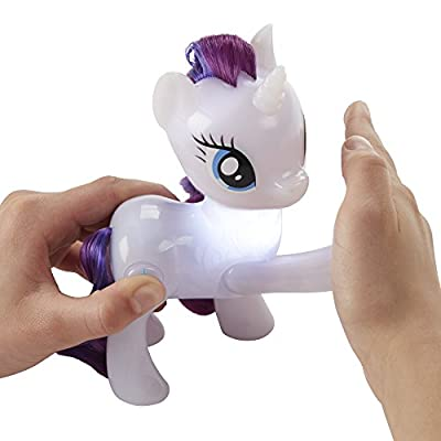 My Little Pony Shining Friends Rarity Figure: Toys & Games