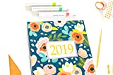 2019 Planner Weekly And Monthly: Calendar