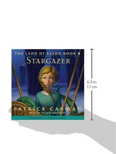 The Land of Elyon #4: Stargazer - Audio Library Edition by Scholastic Inc. (Image #1)