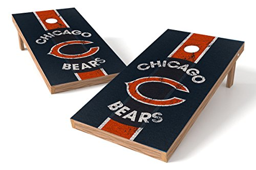 Wild Sports 2'x4' NFL Chicago Bears Cornhole Set - Heritage Design