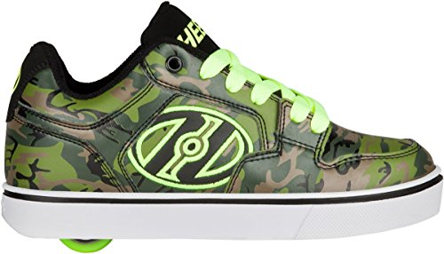 HEELYS MOTION PLUS Schuh 2018 green camo/bright yellow