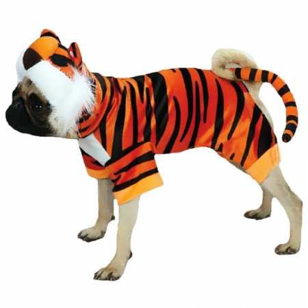 Casual Canine Bengal Buddy Dog Costume, X-Small, Orange ()