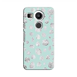 Cover It Up - Diamond Blue Pebbles Nexus 5X Hard case