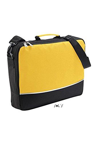 Sols - Project - Konferenztasche aus Polyester , Gold Black , UNIQUE