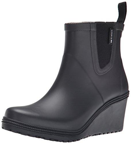 Tretorn Women's Emma  Rain Boot, Black, 41 EU/10 M US
