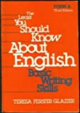 The Least You Should Know about English 9780030697791