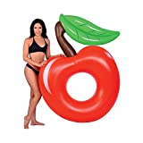 Fly Inflatable Apple Swimming Ring Watermelon Pineapple Swimming Ring Cactus Pineapple Floating Bed Inflatable Floating Row