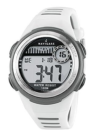 Reloj Navigare cronogrago Digital de niño, Idea regalo Comunión o confirmación, resistente al agua: Amazon.es: Relojes