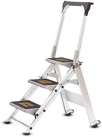 Little Giant - Escalera para uso industrial (almacenaje en tan solo 127 mm de espacio): Amazon.es: Bricolaje y herramientas