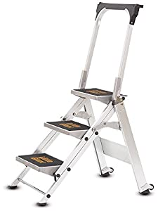 Little Giant 3 Tread Safety Step Ladder | Folding Step Stools | With Tool Tray Fitted into Handrail  sc 1 st  Amazon UK & Little Giant 3 Tread Safety Step Ladder | Folding Step Stools ... islam-shia.org