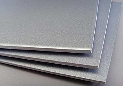 Invento Aluminium Alloy Plate Sheet 250x250x5mm 5mm For Diy Projects Amazon In Industrial Scientific