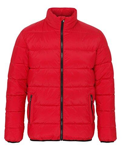 acolchada rojo chaqueta Supersoft rojo negro venture Ts022 2786 wAUqvv
