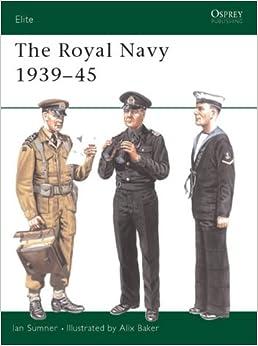 Book The Royal Navy 1939-45 (Elite)