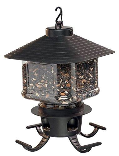 CHSGJY Lantern Bird Feeder for all Birds 5lb Capacity Sunflower Seed Yard Garden Outdoor Living Decor (Garden Sunflower Lantern Feeder)