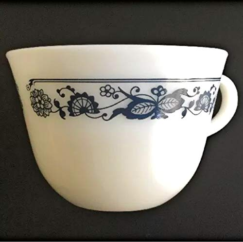 (Pyrex Corning Old Town (Blue Onion) Coffee Cup and Saucer (Not Pictured))