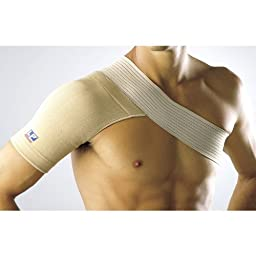 LP Four-Way Stretch Shoulder Support (Unisex; Natural), X-Large
