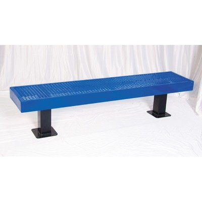 Ultra Play P Metal and Plastic Picnic Bench Frame Color/Coat Color: Black/Black, Size: 6', Back: No by ultraPLAY