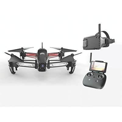 Bolt Drone FPV Racing Drone Carbon Fiber with First Person View Goggles 5.8 Ghz Ready to Fly Package: Toys & Games