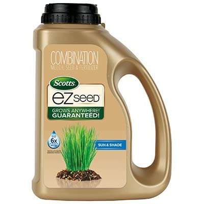 Scotts EZ Seed Sun & Shade 3.75 lb Jug : Garden & Outdoor