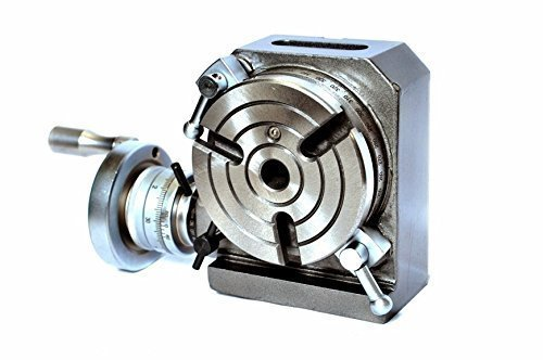"""{High Precision and Smooth Rotation of Hand wheel.} ROTARY TABLE 4/"""" HV4"""