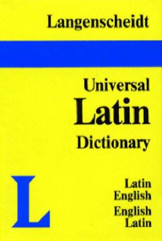 Langenscheidt's Universal Dictionary: Latin-English, English-Latin (English and Latin Edition)