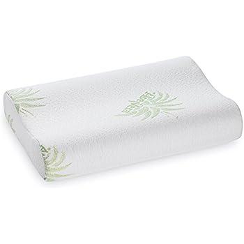Amazon Com Cr Sleep Memory Foam Contour Pillow For Neck