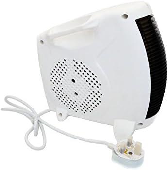 Oypla 2kW 2000W Portable Electric Fan Silent Floor Heater Hot & Cold