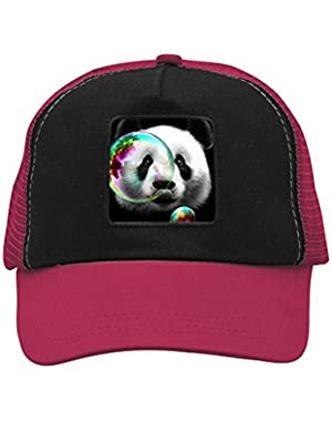 Unisex Panda Bubble Adjustable Classic Hiphop Hat Baseball Cap Snapback Dad Hat
