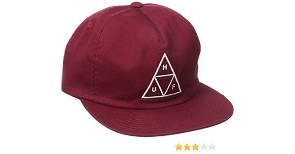 fbccbd1043d Amazon.com  HUF Men s Triple Triangle Snapback