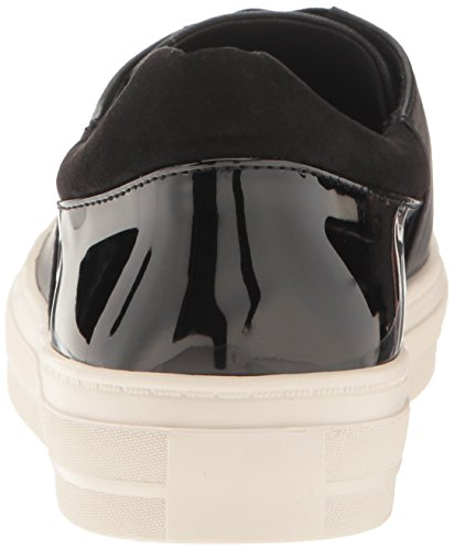 West Obasi Nine Women's Fashion Black Multi Patent Sneaker 86xwqEx1