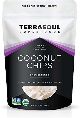 Dried Fruit & Raisins: Terrasoul Coconut Chips