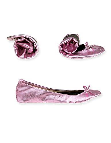 Wechselschuhe Ballerinas rollbare flache Schuhe falten Flats mitnehmen Ballerina2Go zum von Schuhe zum guenstig Schuhe Afterparty Faltbare Slipper nTpd4Cqxq