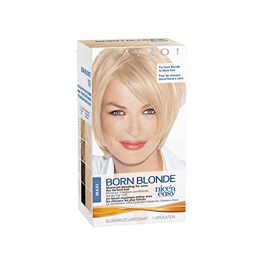 Clairol Nice 'N Easy Born Blonde Hair Color, Maxi 1 Kit (PACKAGING MAY VARY) by Clairol