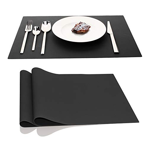 IPHOX Large Silicone Mats Table Mats Placemats Countertop Protection, Place Mats for Kitchen Dining Table Heat Resistant Baking Mat, Nonstick Pastry Mats, 17.7