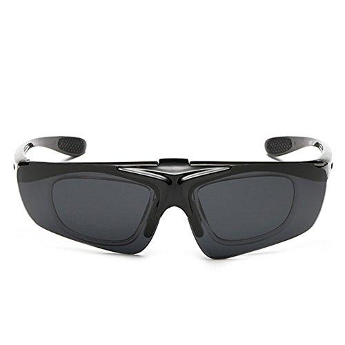 A-Roval Men Polarized Rectangular Sportive Plastic - Bolle Closeout Sunglasses
