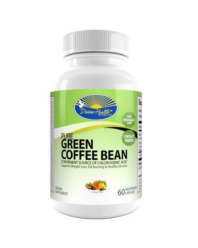 Pure Green Coffee Bean Extract - 400mg - 50% Chlorogenic ...