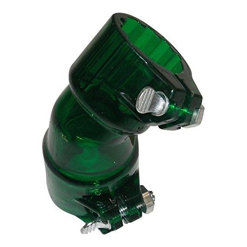 GREEN finger Locking Bent Feed neck Elbow Paintball Gun Loader VL JT Rev Hopper tinted GXG - Elbow Gun