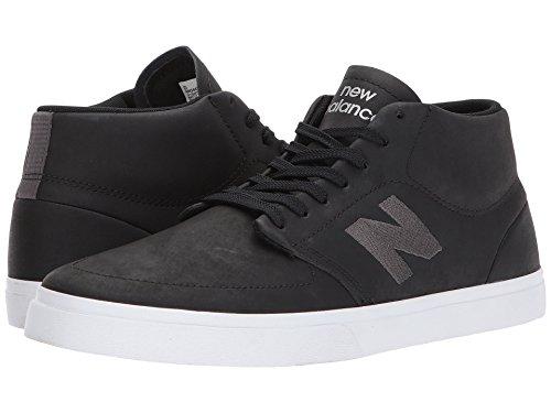 太字暴君生む(ニューバランス) New Balance メンズスニーカー?カジュアルシューズ?靴?スケート NM346 Black/Grey 9.5 (27.5cm) D - Medium