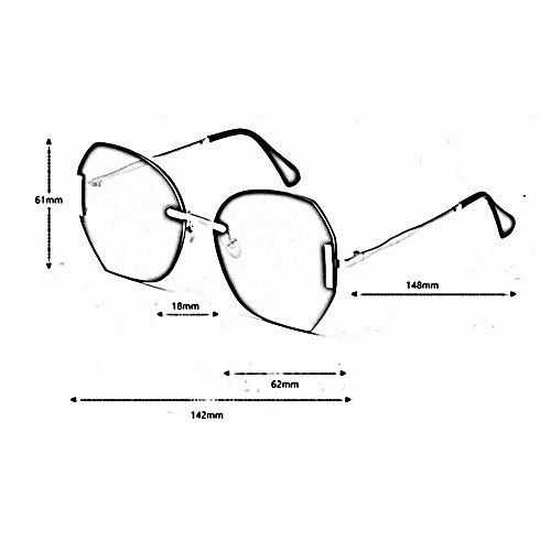 Net xin Personalidad De Marco Red Street 3 Grande Manejar Color De Gafas Beat Gafas 2 Sol WX Hembra Hipster Montura 7YdFWn7f