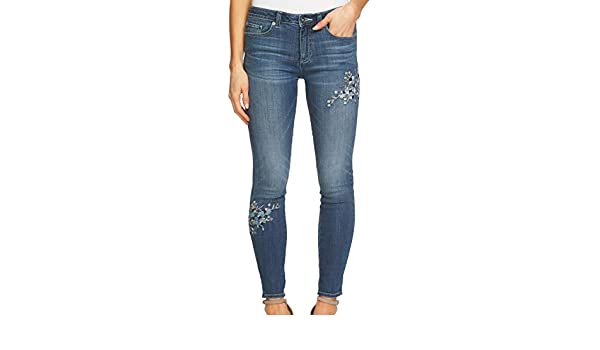 e3a944b7 CeCe Womens 32x28 Stretch Skinny Ankle Denim Jeans Blue 32 at Amazon  Women's Jeans store