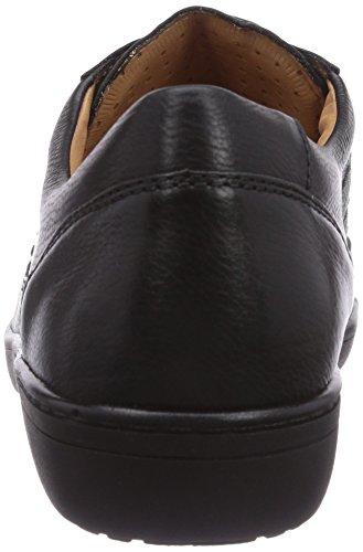 Ganter ANKE, Weite G - zapatos con cordones de cuero mujer negro - Schwarz (schwarz 0100)
