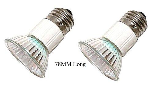 Pack of 2, LSE Lighting Z0B0011 50W JDR E27 75mm Range Hood Appliance Bulbs (Jdr Type)