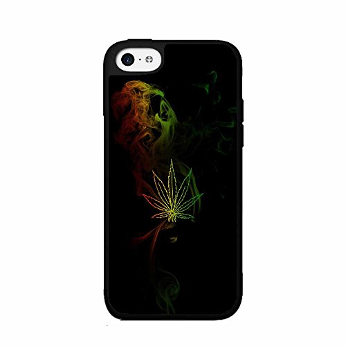 BleuReign(TM) Abis Rasta Smoke TPU RUBBER SILICONE Phone Case Back Cover iPhone 5 5s and iPhone - Smoke Silicone Case Phone Cover
