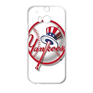Happy new york yankees logo Phone Case for HTC One M8